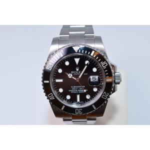 新品仕上げ済 ROLEX ロレックス サブマリーナ 116610LN ランダム番 黒 ブラック 自動巻き メンズ 腕時計|brand-forest-shop2