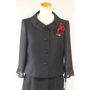 LAPINE FORMAL(ラピーヌ フォーマル) 幾何ジャガード素材  夏 スーツ brand-formal-store