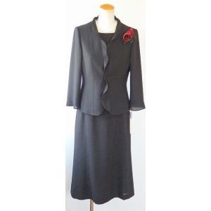 LAPINE FORMAL(ラピーヌ フォーマル) 夏 ウォッシャブル素材 フリルカラー スーツ brand-formal-store
