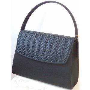日本製 岩佐 西陣織 リボンメッシュブレード 大きめサイズ フォーマルバッグ|brand-formal-store