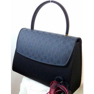 日本製  岩佐 シルク素材 博多織 撥水加工 大きい目 フォーマルバッグ|brand-formal-store