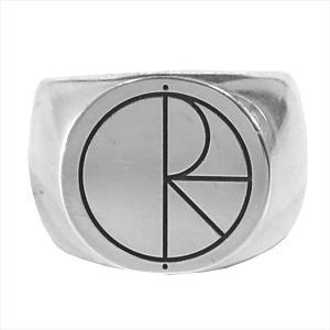 ポーラー POLAR Stroke Logo Ring ストローク ロゴ リング シルバーリング シ...