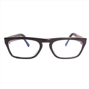 クロムハーツ CHROME HEARTS JUST THE TIP 度入り アイウェア 眼鏡 黒系 52□19-146 【中古】 brand-life