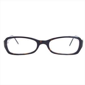 プラダ PRADA 度入り VPR06F メガネ アイウェア 眼鏡 ダークブラウン系 51□18 135 【中古】 brand-life