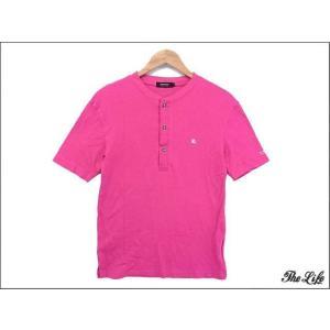中古 BURBERRY BLACK LABELバーバリーTシャツ2/ピンク|brand-life