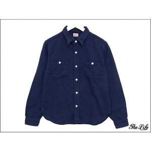 中古 テンダーロインT-HEAVY FLANNEL SHTシャツM(NAVY)|brand-life