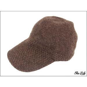 中古 mont-bell モンベル ウールキャップ 帽子 L ブラウン brand-life