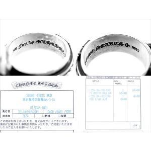 【中古】 Chrome Hearts フォティ ハリスティーター リング #19 FT HRRSTTR CABLE LRG ケーブル リング スカル 国内正規店インボイス原本付属(クロムハーツ青山)|brand-life|03