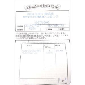 【中古】 CHROME HEARTS フィリグリークロス XL w/レザーブレード|brand-life|03