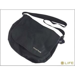 中古 mont bell モンベル ショルダー バッグ BLACK brand-life
