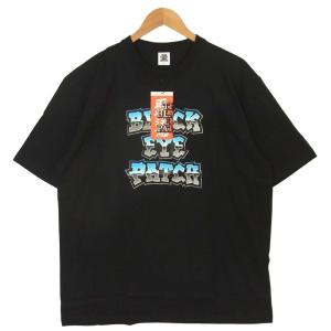 ブラックアイパッチ BLACK EYE PATCH 20SS BEPSS20TE08 HOMEBOYZ TEE ホームボーイズ 半袖 Tシャツ ブラック系 XL【新古品】【未使用】【中古】|brand-life