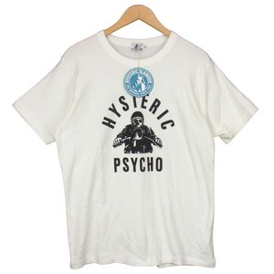 HYSTERIC GLAMOUR ヒステリックグラマー 21SS 02211CT25 HG ROCKERS Tシャツ ホワイト系 XL【新古品】【未使用】【中古】|brand-life
