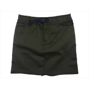 モンベル 2105234 Core Spun Travel Skirt コアスパン トラベル レディース スカート  カーキグリーン S MONT-BELL 【極上美品】【中古】 brand-life