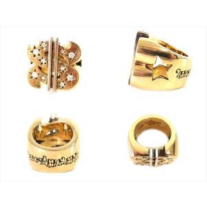 【中古】TENDERLOIN テンダーロイン T-$ RING ( GOLD / STONE ) ダラー リング K8 ダイヤ ゴールド シルバー 19号|brand-life|02