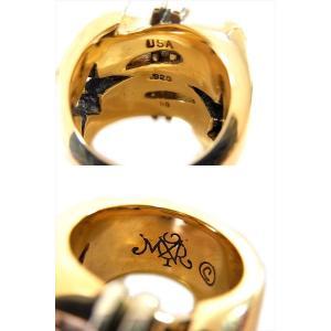 【中古】TENDERLOIN テンダーロイン T-$ RING ( GOLD / STONE ) ダラー リング K8 ダイヤ ゴールド シルバー 19号|brand-life|03