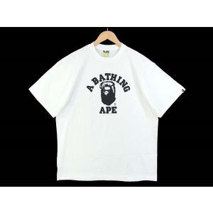 アベイシングエイプ ラインストーン Tシャツ  ホワイト系 ...
