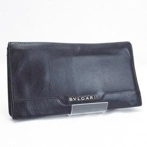 7af51ca6ba25 ブルガリ アーバン 二つ折り長財布 ブラック レザー 33402 中古 Bランク BVLGARI メンズ 箱付き