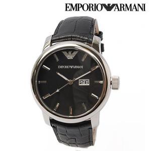 EMPORIO ARMANI エンポリオ アルマーニ メンズ腕時計 クラシック ブラック AR0428 新品 送料無料|brand-pit