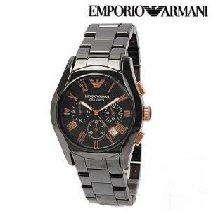 EMPORIO ARMANI エンポリオ アルマーニ メンズ腕時計 セラミカ ブラック AR1410 新品 送料無料|brand-pit