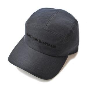 エンポリオアルマーニ キャップ/帽子 EMPORIO ARMANI メンズ ベースボールキャップ ダークネイビー/ロゴ 627762 6A501 00020|brand-pit