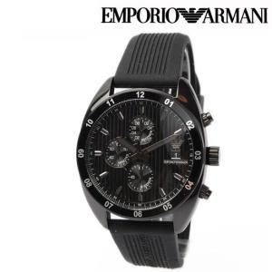 エンポリオ アルマーニ メンズ腕時計 EMPORIO ARMANI Sport クノログラフ ブラック AR5928|brand-pit