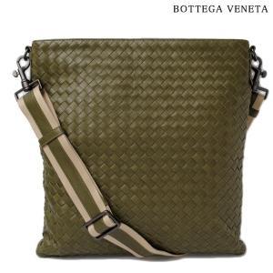 ボッテガヴェネタ ショルダーバッグ/クロスボディバッグ BOTTEGA VENETA イントレチャートVN カーキ brand-pit