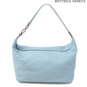 ボッテガヴェネタ ハンドバッグ BOTTEGA VENETA 309065 V0016 4960 イントレチャート ナッパ シエルブルー  アウトレット brand-pit