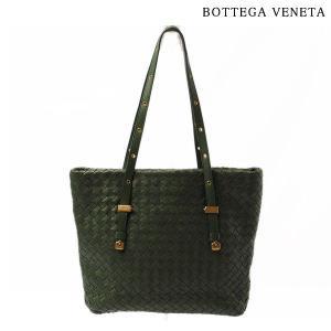 ボッテガ ヴェネタ トートバッグ/ハンドバッグ BOTTEGA VENETA 162937 イントレチャート グリーン brand-pit