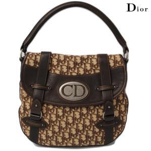 クリスチャン ディオール Christian Dior ショルダーバッグ  ヴィンテージライン/ブラウン|brand-pit