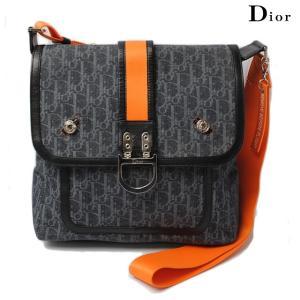 クリスチャン ディオール Christian Dior ショルダーバッグ/メッセンジャーバッグ フライトライン デニム キャンバス|brand-pit