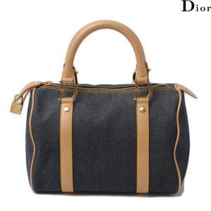 クリスチャン ディオール Christian Dior ミニボストンバッグ/ハンドバッグ カーフ/デニム SJE44019|brand-pit