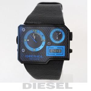 ディーゼル DIESEL メンズ 腕時計 トリプルタイム ブラック DZ7103【新品】【送料無料】|brand-pit