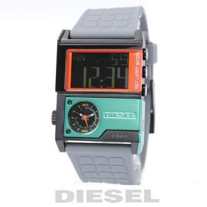 ディーゼル DIESEL メンズ 腕時計 スクエア/グレー DZ7147【新品】【送料無料】|brand-pit