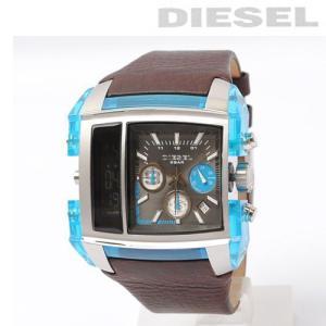 ディーゼル DIESEL メンズ 腕時計 スクエア/クリアブルー DZ7156【新品】【送料無料】|brand-pit