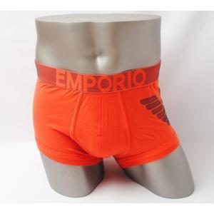 エンポリオアルマーニ ボクサーパンツ/トランクス EMPORIO ARMANI アパレル メンズ アンダーウェア/インナー オレンジ|brand-pit