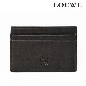 LOEWE ロエベ ビジネス カードホルダー/名刺入れ シープスキン ブラック 新品 送料無料|brand-pit