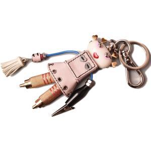 プラダ キーリング/キーホルダー  PRADA キートリック nancy/ロボット/TRICK RO...