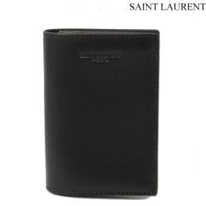 サンローランパリ SAINT LAURENT PARIS カードケース/名刺入れ メンズ ボックスクラシック ブラック 315863 BM00N 1000 |brand-pit