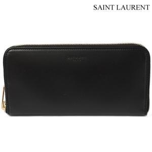 サンローランパリ 長財布 SAINT LAURENT PARIS  メンズ ボックスクラシック ブラック/ゴールド 315859 BM00J 1000 ラウンドファスナー式|brand-pit
