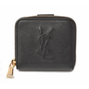 サンローランパリ 財布 SAINT LAURENT PARIS 折財布 ブラック 352906 CP200 1000|brand-pit