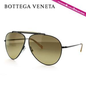 ボッテガヴェネタ サングラス BOTTEGA VENETA B.V. 159S 006/ED Black/Brown Shaded ティアドロップ メンズ レディース|brand-sunglasshouse