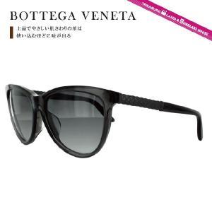 ボッテガヴェネタ サングラス BOTTEGA VENETA B.V.251FS F34/9O 56(GREY BURNISH) ブラック/グレーグラデーション メンズ レディース|brand-sunglasshouse