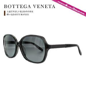 ボッテガヴェネタ サングラス BOTTEGA VENETA B.V.257FS 4EO/HD 60(DKGRY BRNSHD) ブラック/グレーグラデーション メンズ レディース|brand-sunglasshouse