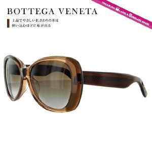 ボッテガヴェネタ サングラス BOTTEGA VENETA B.V.260FS 4EP/JD 55(TRANSP BROWN) ブラウン ダークブラウン/ブラウングラデーション メンズ レディース|brand-sunglasshouse