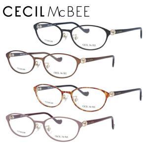 セシルマクビー メガネフレーム 女性 ブランド おしゃれ かわいい CECIL McBEE CMF 3041 全4カラー 52|サングラスハウス
