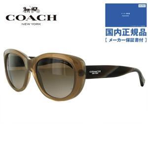 コーチ サングラス COACH HC8083 519213 55 ミルキーブラウン/ブラウングラデーション L071 Darcy レディース 国内正規品|brand-sunglasshouse
