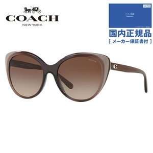 コーチ サングラス 2018年新作 アジアンフィット COACH HC8260F 553413 55|brand-sunglasshouse