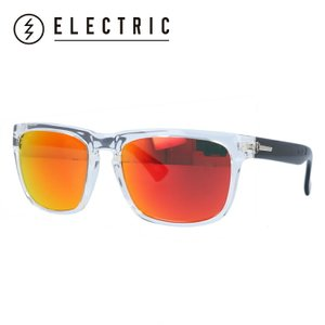 エレクトリック サングラス 度付き対応 ELECTRIC KNOXVILLE BLACK CRYSTAL/MELANIN GREY FIRE CHROME メンズ レディス|brand-sunglasshouse