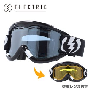 エレクトリック ゴーグル ELECTRIC EG1 Gloss Black Blue/Silver Chrome EG0112100 BLSC スノーボード スノボ|brand-sunglasshouse