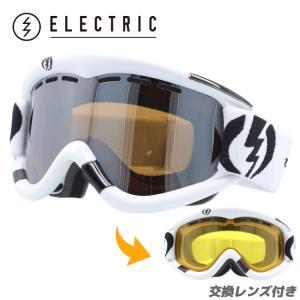 エレクトリック ゴーグル ELECTRIC EG0112200 BSRC EG1 GLOSS WHITE/BRONZE/SILVER CHROME スキー スノーボード ウィンタースポーツ 交換レンズ付き スノボ|brand-sunglasshouse